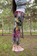 Beautiful Forest Mushroom Leggings 3912