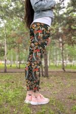 Animal & Forest Mushroom Leggings 3914