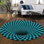 Ligerking™ Rug Geometric 3D Blue HD03459