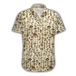 Ligerking™ Mushroom Short Sleeve Shirt  3902