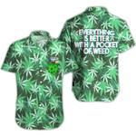 Ligerking™ 420  Weed Pocket Short Sleeve Shirt  HD03442