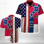 Ligerking™ North Carolina Shirt Short Sleeve HD03548