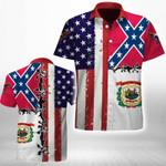 Ligerking™ West Virginia Shirt Short Sleeve HD03553