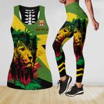 Ligerking™ Jamaica Lion Tank Top, Leggings HD03540