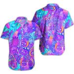 Ligerking™ Magic Mushroom  Short Sleeve Shirt HD03496