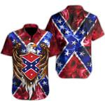 Ligerking™ Confederate Flag Shirt Short Sleeve HD03564