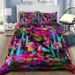 Ligerking™ Mushroom illusion Quilt bedding set HD03598