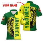 Ligerking™ Jamaica Lion Polo T-shirt HD03603