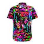 Ligerking™ Mushroom illusion Short Sleeve Shirt HD03598