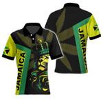 Ligerking™ Jamaica Lion Polo T-shirt HD03601