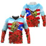 Ligerking™ Puerto Rico Hoodie 02859