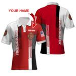 Ligerking™ FireFighter Polo T-Shirt Short Sleeve HD03624