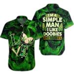 Ligerking™ 420 Simple Man Short Sleeve Shirt HD02808