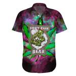 Ligerking™ 420 Don't Care bear Short Sleeve Shirt HD01667