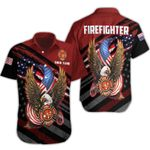 Ligerking™ FireFighter Polo T-Shirt Short Sleeve HD03642