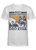 Ligerking™ German Shepherd Dad T-shirt HD03689