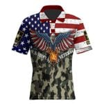 Ligerking™ US Army Polo T-shirt HD03669