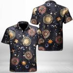 Ligerking™ Astrology Short Sleeve Shirt HD03809