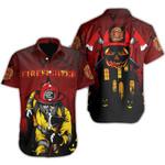 Ligerking™ FireFighter Halloween Polo T-Shirt Short Sleeve HD03806