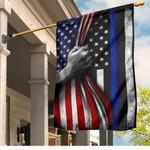 Ligerking™ Police Back The Blue Flag HD03844