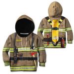 Ligerking™ FireFighter Kids Custom Name HD03846