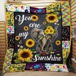 Ligerking™ SunFlower - Hippie Quilt 3D AOP 03857
