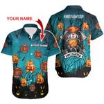 Ligerking™ FireFighter Halloween Polo T-Shirt Short Sleeve HD03836