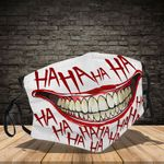 Ligerking™ Haha Joker Cloth Face Coverings - Haloween Crazy Smile HD03871