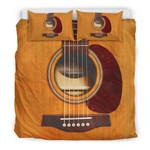 Ligerking™ New! Wooden Guitar Bedding Set HD03993