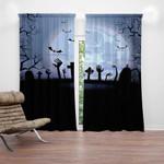 Ligerking™ Halloween Window Curtains  HD03907