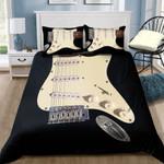 Ligerking™ Black Electric Guitar Bedding Set HD03996