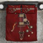 Ligerking™ Red Electric Guitar Bedding Set HD03986