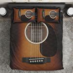 Ligerking™ Awesome Wood Guitar Bedding Set HD03991