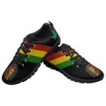 Ligerking™ Jamaica Rastafari Flag Sneaker Black HD03766