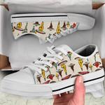 Ligerking™ Mushroom Body Low Top Shoes White HD03405