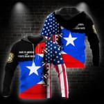 Ligerking™ Puerto Rico Hoodie 02177