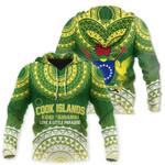 Ligerking™ Cook Islands Hoodie Love A Little Paradise hado7300
