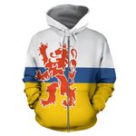 Netherlands Ligerking ™ over print hoodie HD02032