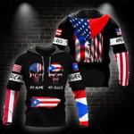 Ligerking™ Puerto Rico Hoodie 02168