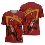 Wales T-shirt - Welsh Dragon Rugby Champion HD02117