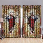 Ligerking™ Jesus Window Curtains HD02157