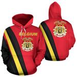Belgium Ligerking ™ over print hoodie HD01935
