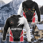 AUSTRIA active special all over printed hoodies for man and women HD01915