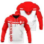 Ligerking™ Switzerland Hoodie 3D all over print HD02095