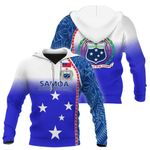 Ligerking™ personalized name Samoa hoodie HD01812