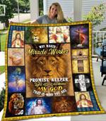 Ligerking™ Jesus Quilt Blanket HD01772