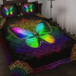 Mandala Butterfly Quilt Bedding Set HD02354