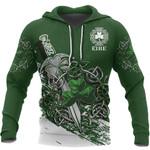 Ireland - Celtic Shamrock & Sword Pullover Hoodie HD01865