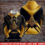Ligerking™ Freemasonry Personalized Lodge Name,Number, Your Name HD02327