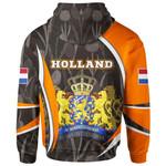 Netherlands Ligerking ™ over print hoodie HD02022